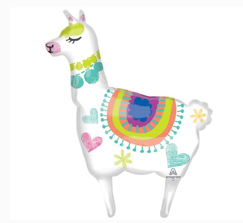 "41"" Llama Supershape Balloon"