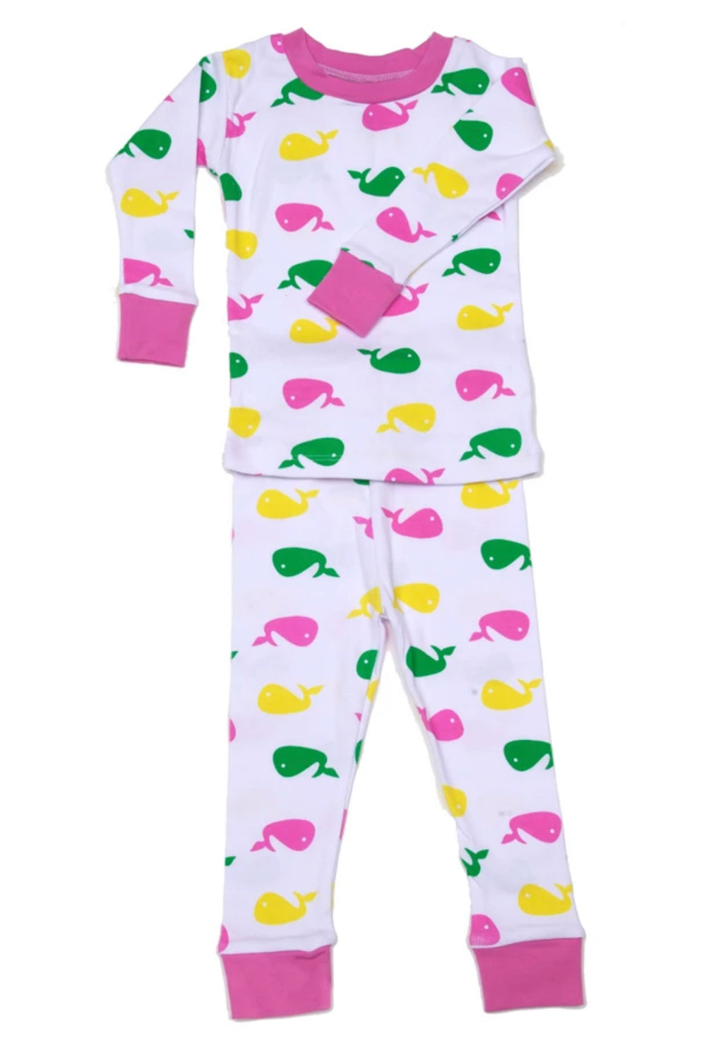 New Jammies Pink Whale Pajamas