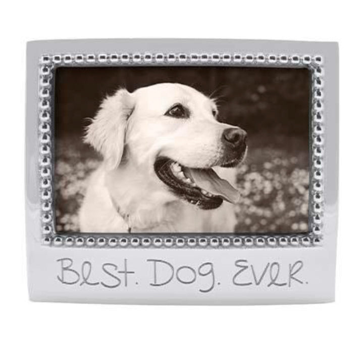 Mariposa Best Dog Ever Picture Frame