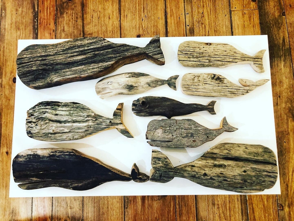Driftwood whale