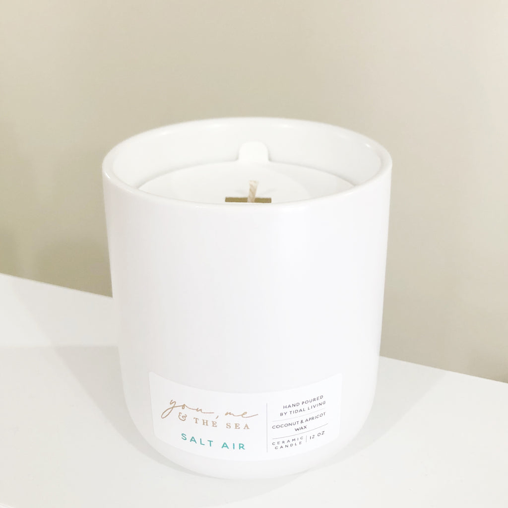Salt air candle