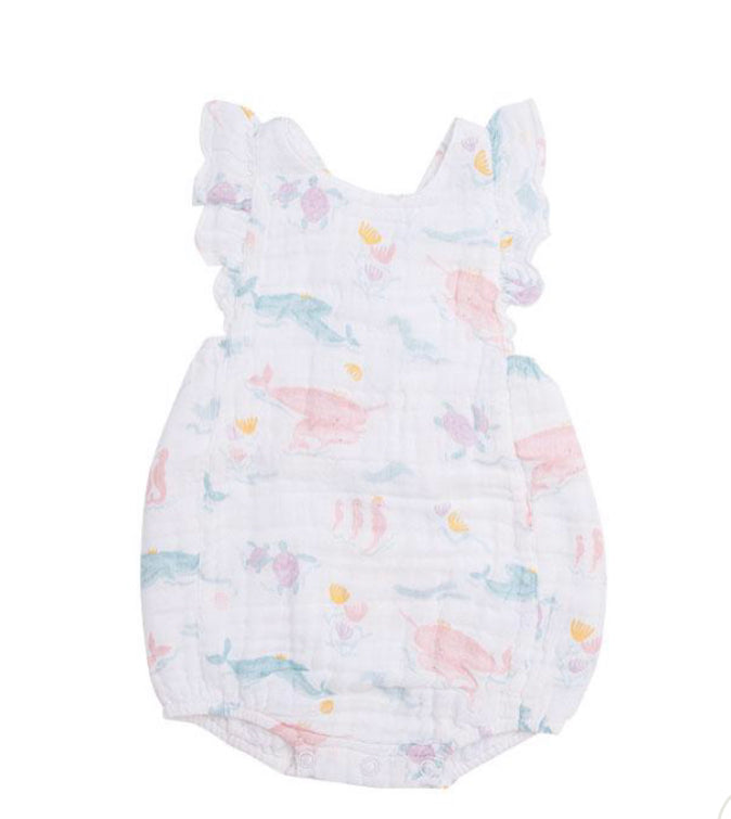 Angel dear pretty ocean sunsuit