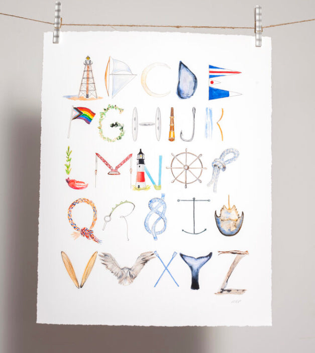 The Coastal Alphabet