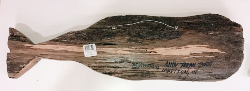 "18"" Driftwood Whale"