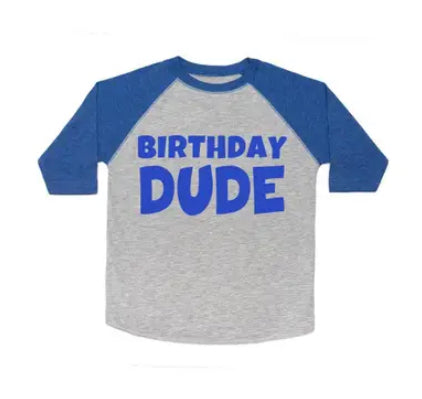 Birthday dude long sleeve shirt