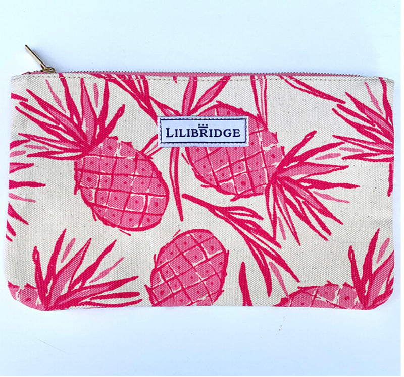Lilibridge Pink Pineapple Clutch