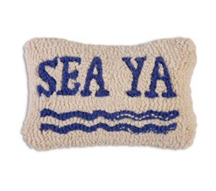 Sea Ya hook Pillow