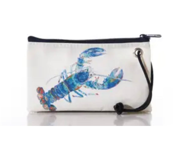 Sea bags multi color lobster wristlet