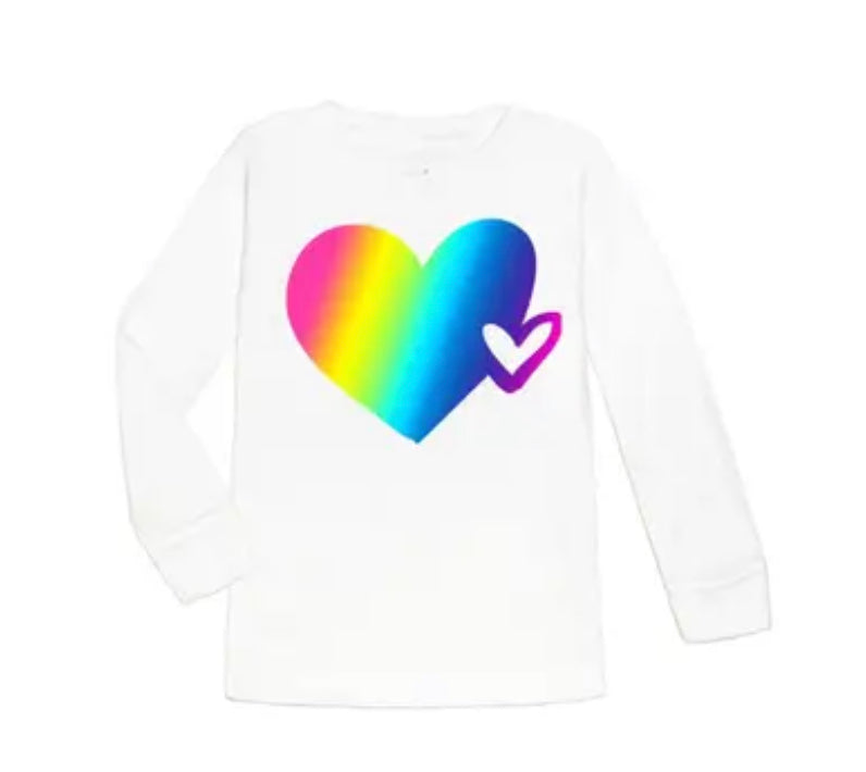 Sweet wink magical heart long sleeve shirt