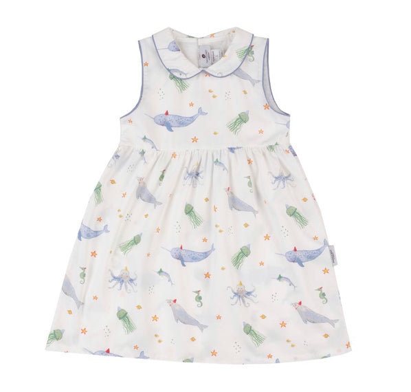 Nantucket Kids Sea You At The Party Dress