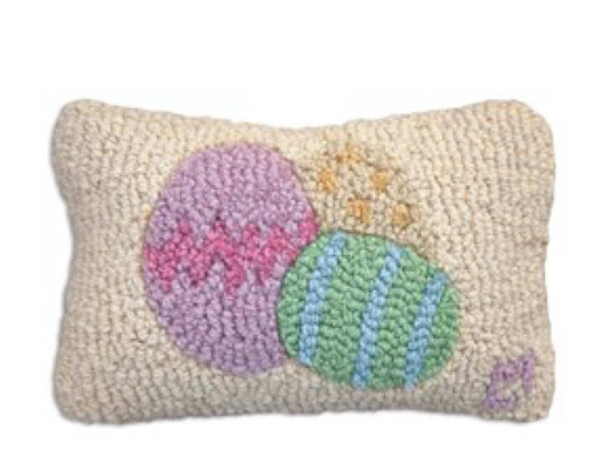 Easter egg hook pillow
