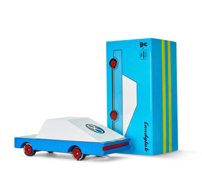 Candylab candycar toy car blue racer