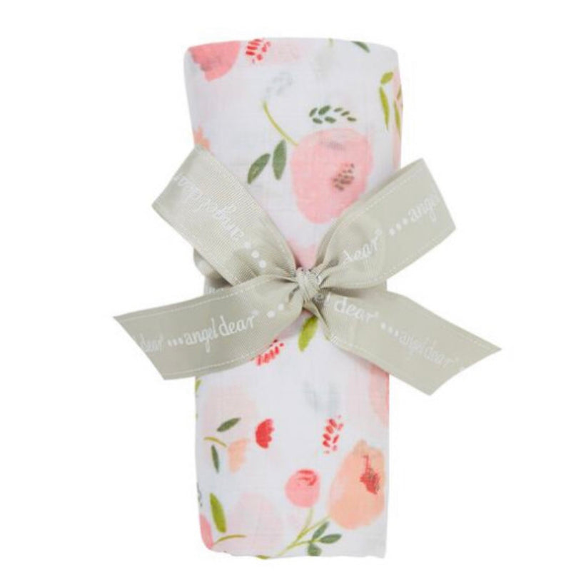 Angel dear Bamboo Pretty in Pink Swaddle