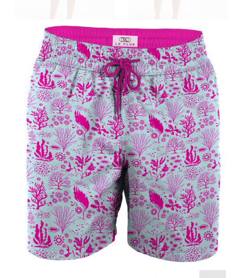 LeClub coral gables boys swim trunks