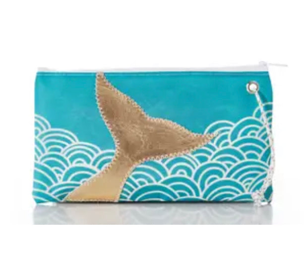 Sea bags Gold Mermaid Tail Wristlet