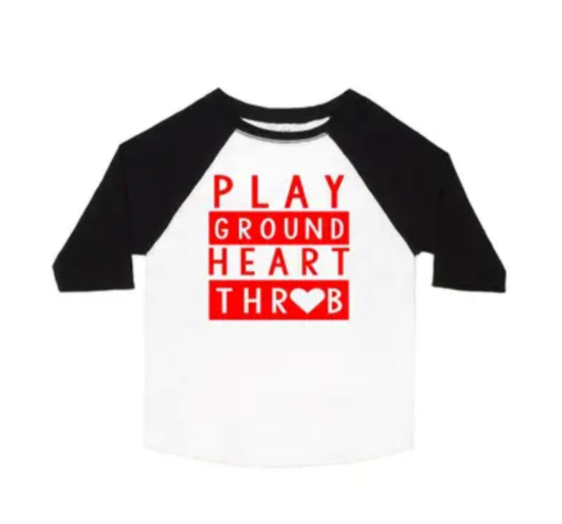 Sweet wink Playground Heartthrob Shirt