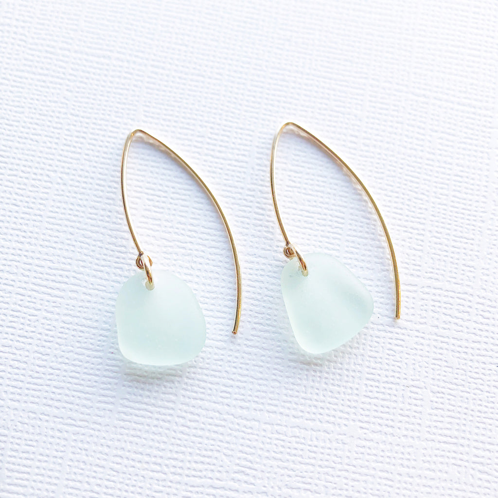 Mystic Sea Glass Earrings