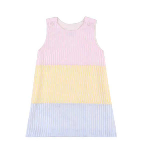 Nantucket Kids Clara Colorblock Dress