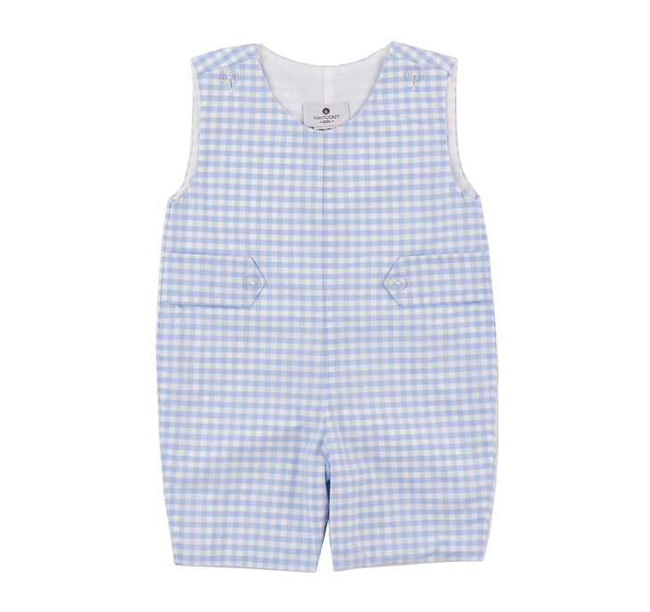 Nantucket kids Chatham bars blue gingham Jon jon