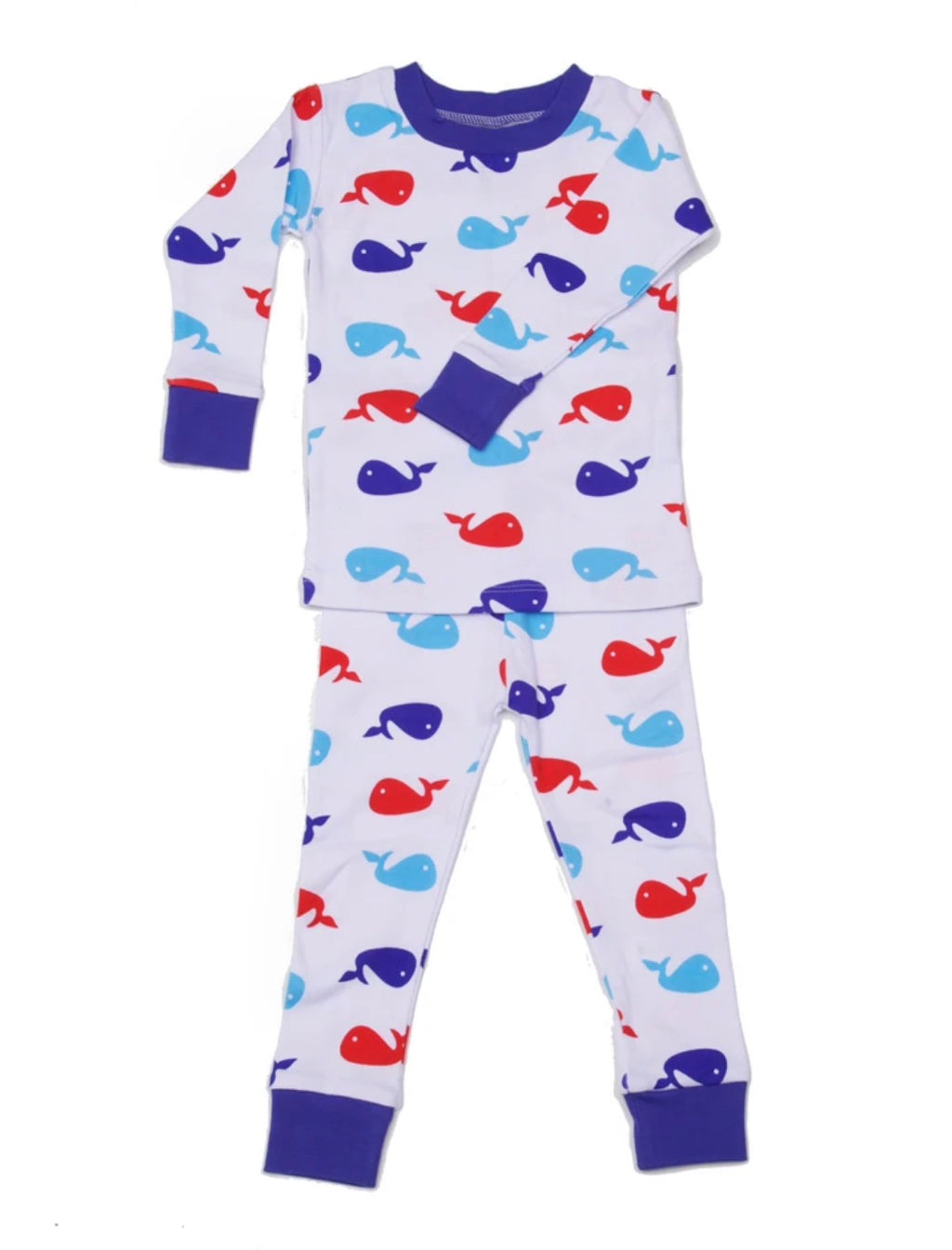 New Jammies Blue Whale Pajamas