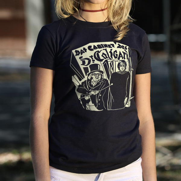 Das Cabinet Des Doctor Caligari T-Shirt (Ladies)