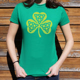 Celtic Shamrock T-Shirt (Ladies)