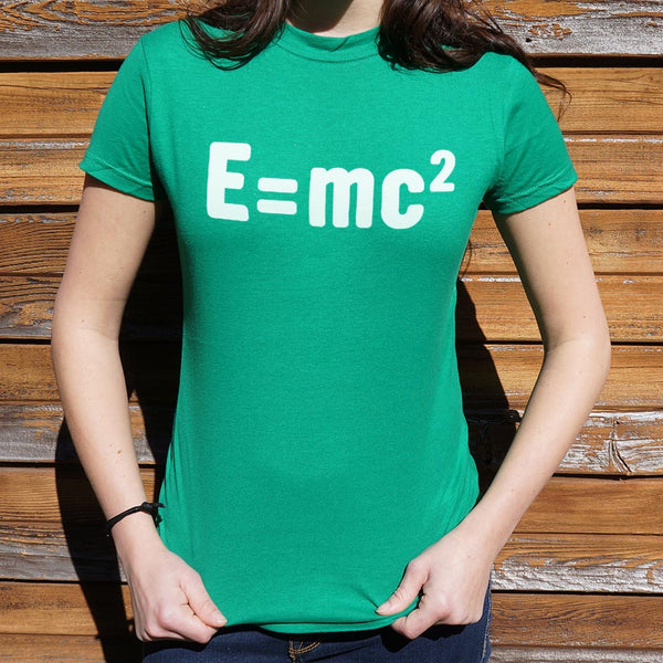 Einstein's Formula  T-Shirt (Ladies)