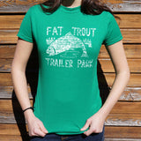 Fat Trout Trailer Park T-Shirt (Ladies)
