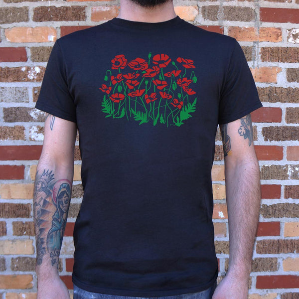 Poppies T-Shirt (Mens)