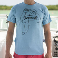 Save The Narwhals T-Shirt (Mens)