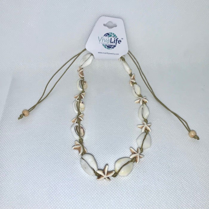 Cowrie Necklace 14