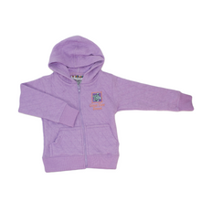 Load image into Gallery viewer, Toddler Diamond Quilted Hooded Jacket (Lavender)