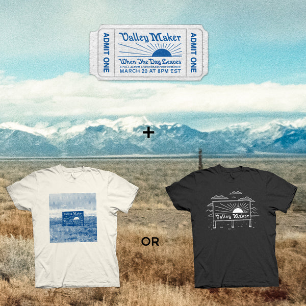 BUNDLE #1: Ticket + Shirt