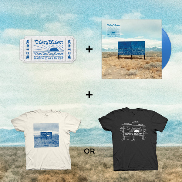 SUPER BUNDLE #1: Ticket + Shirt + Vinyl LP