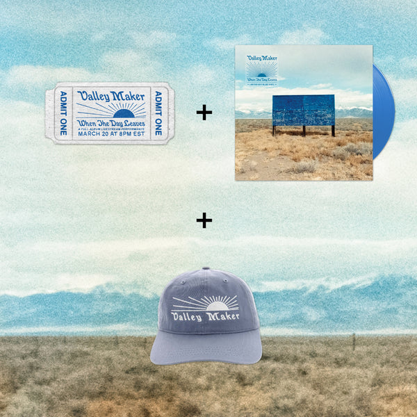 SUPER BUNDLE #3: Ticket + Vinyl LP + Hat