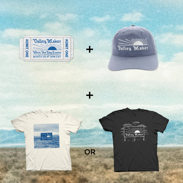 SUPER BUNDLE #2: Ticket + Shirt + Hat