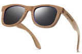Pilot Retro Oak Wood Sunglasses