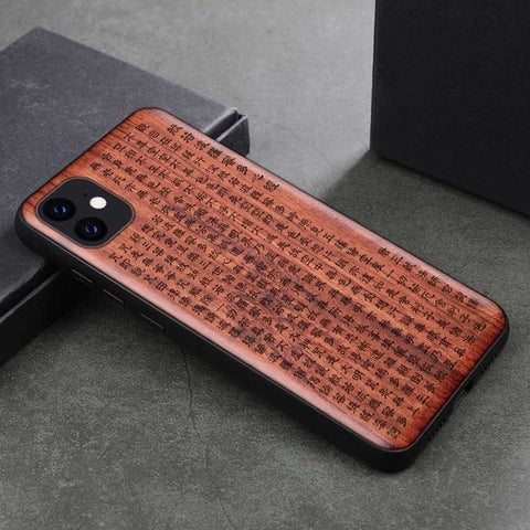 Wood iPhone Case with Laser Engraved (China1)