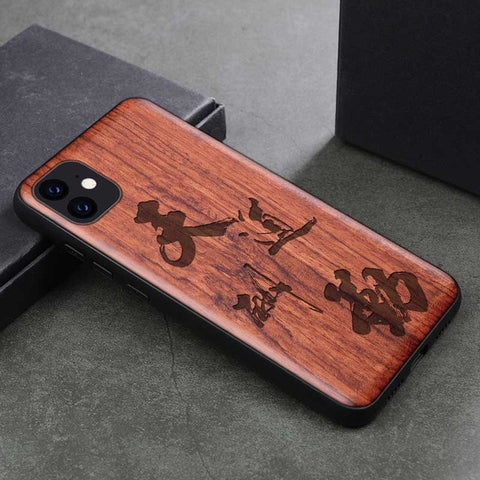 Wood iPhone Case with Laser Engraved (China2)