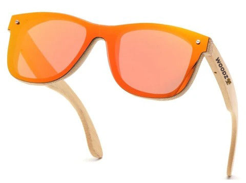 Goggle Bamboo Wood Sunglasses