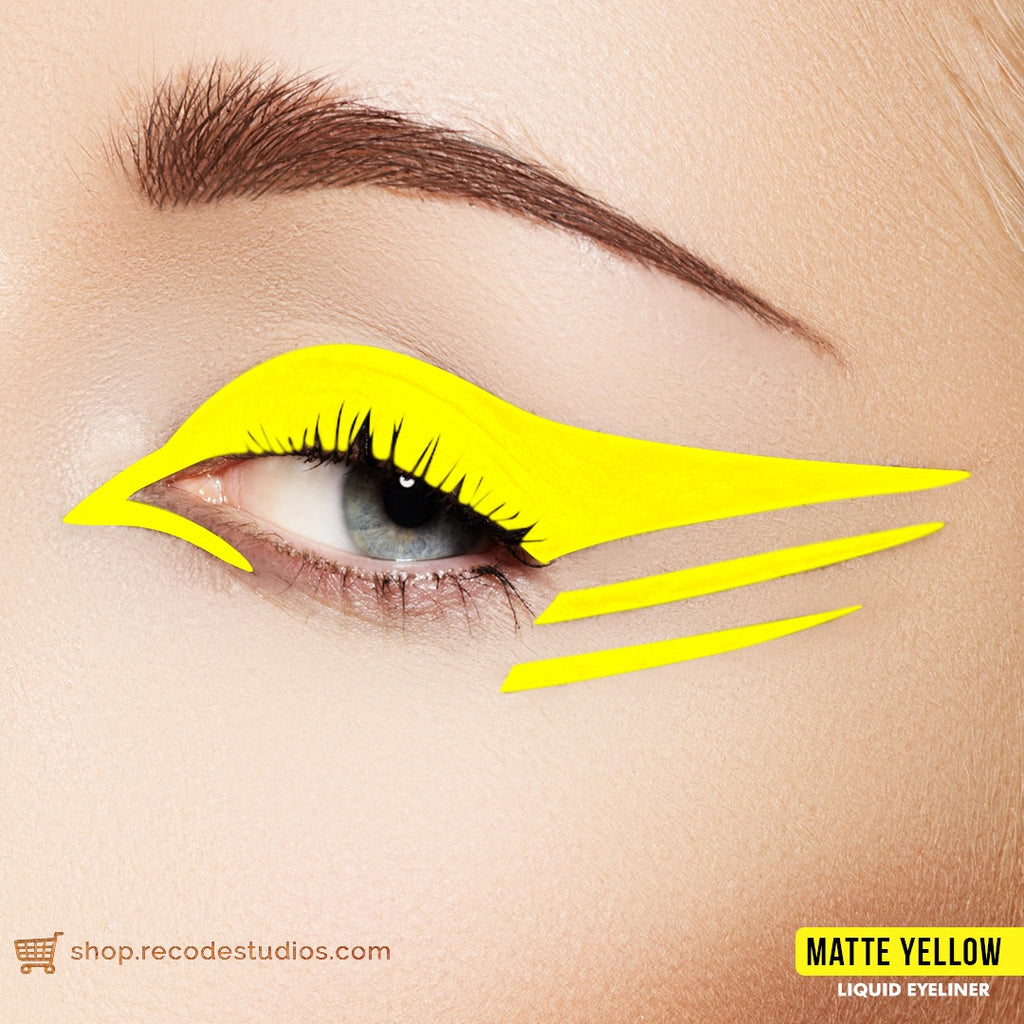 Matte Liquid Eyeliner –Yellow