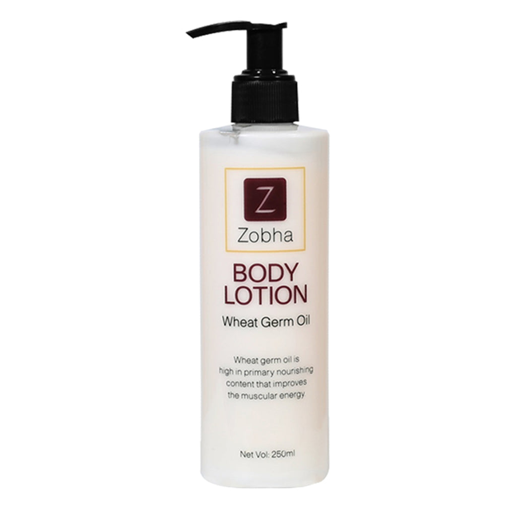 ZOBHA BODY LOTION PURE WHEAT GERM OIL -250ML