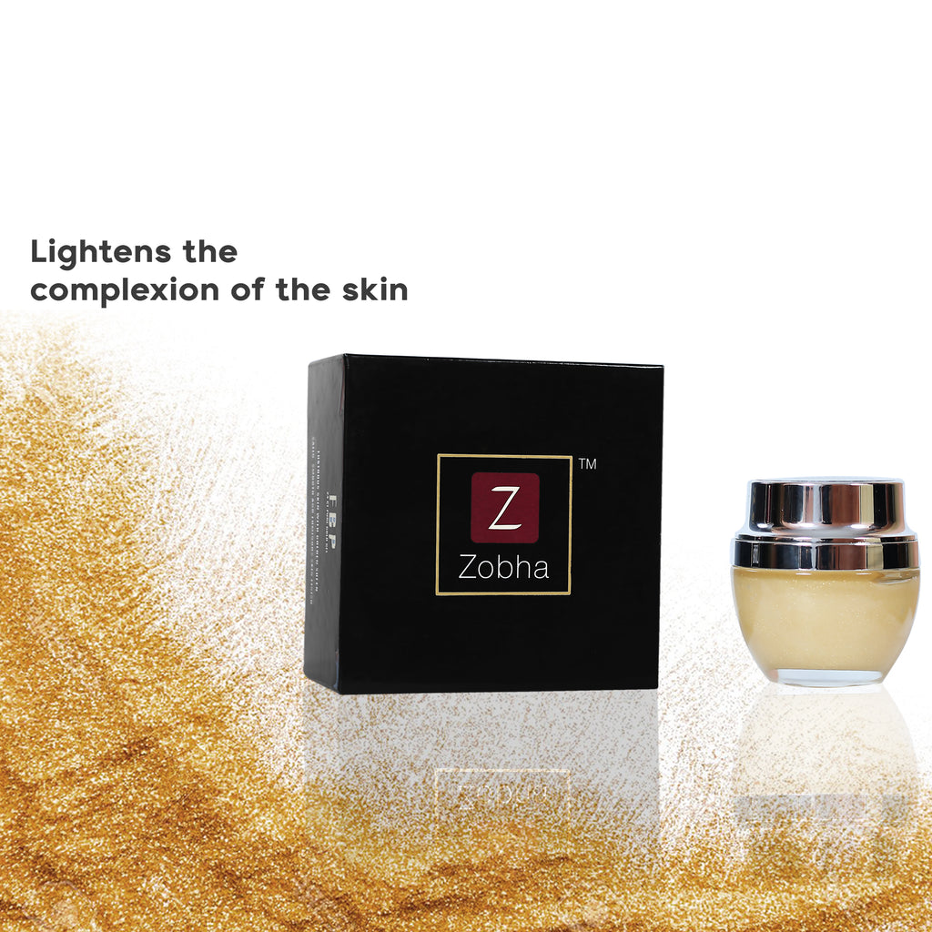 ZOBHA FACE & BODY POLISHER 24CT GOLD FACIAL GEL