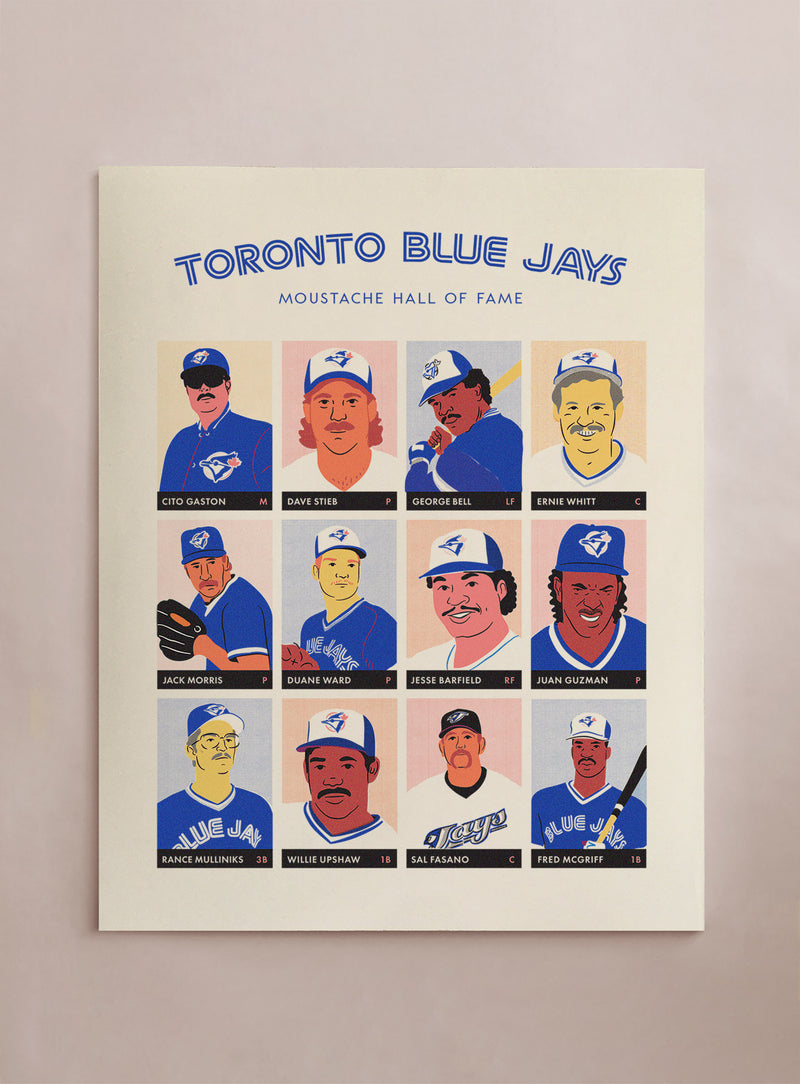 Moustache Hall of Fame - Toronto Blue Jays
