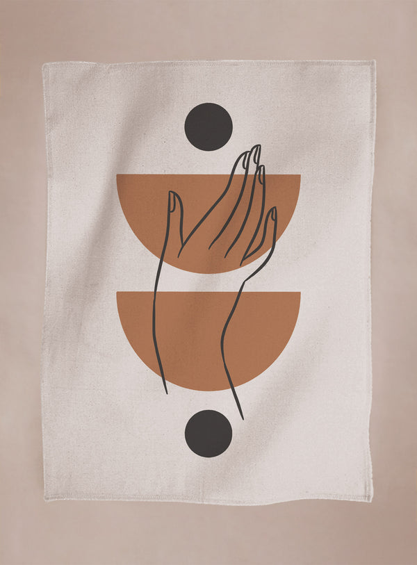 Tea Towel - Hand
