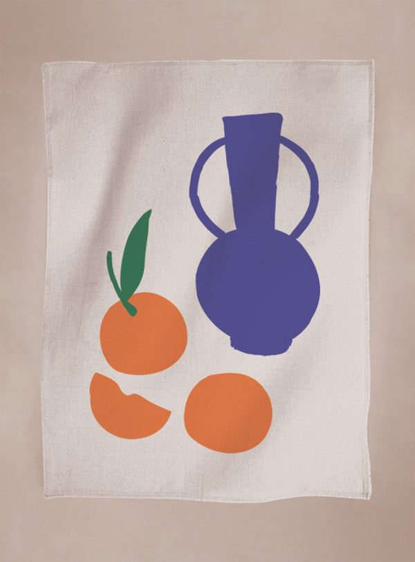 Tea Towel - Marrakech Mandarins
