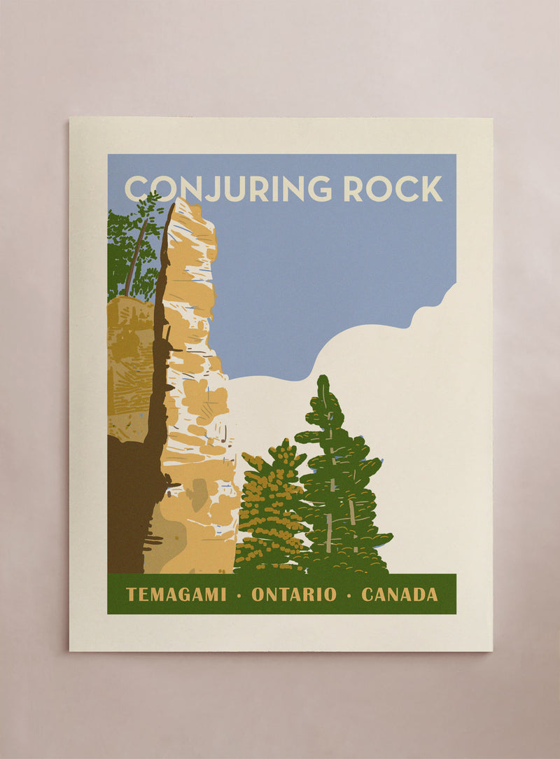 Travel Conjuring Rock