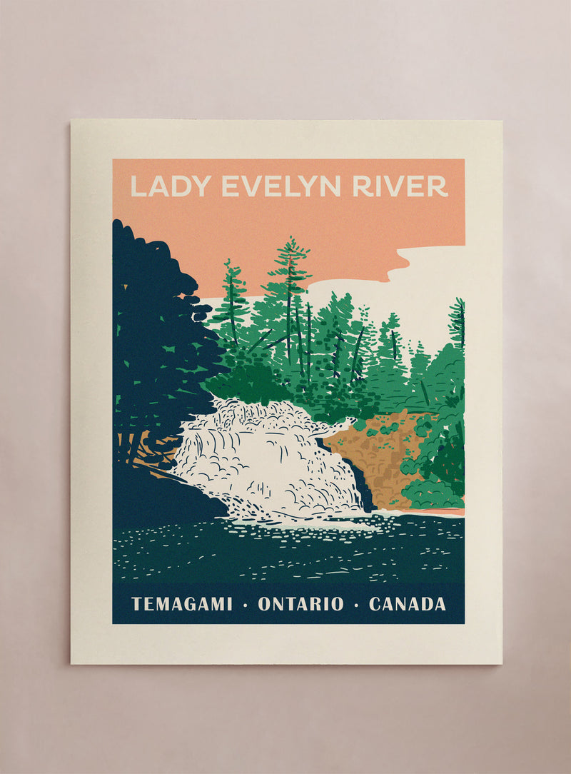 Travel Lady Evelyn River