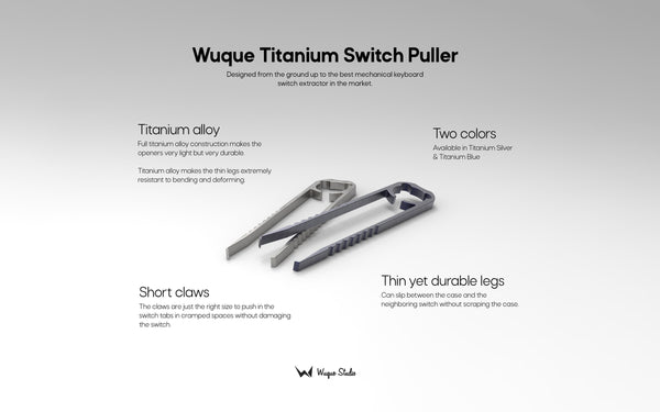 Wuque Titanium Switch Puller [In-stock]