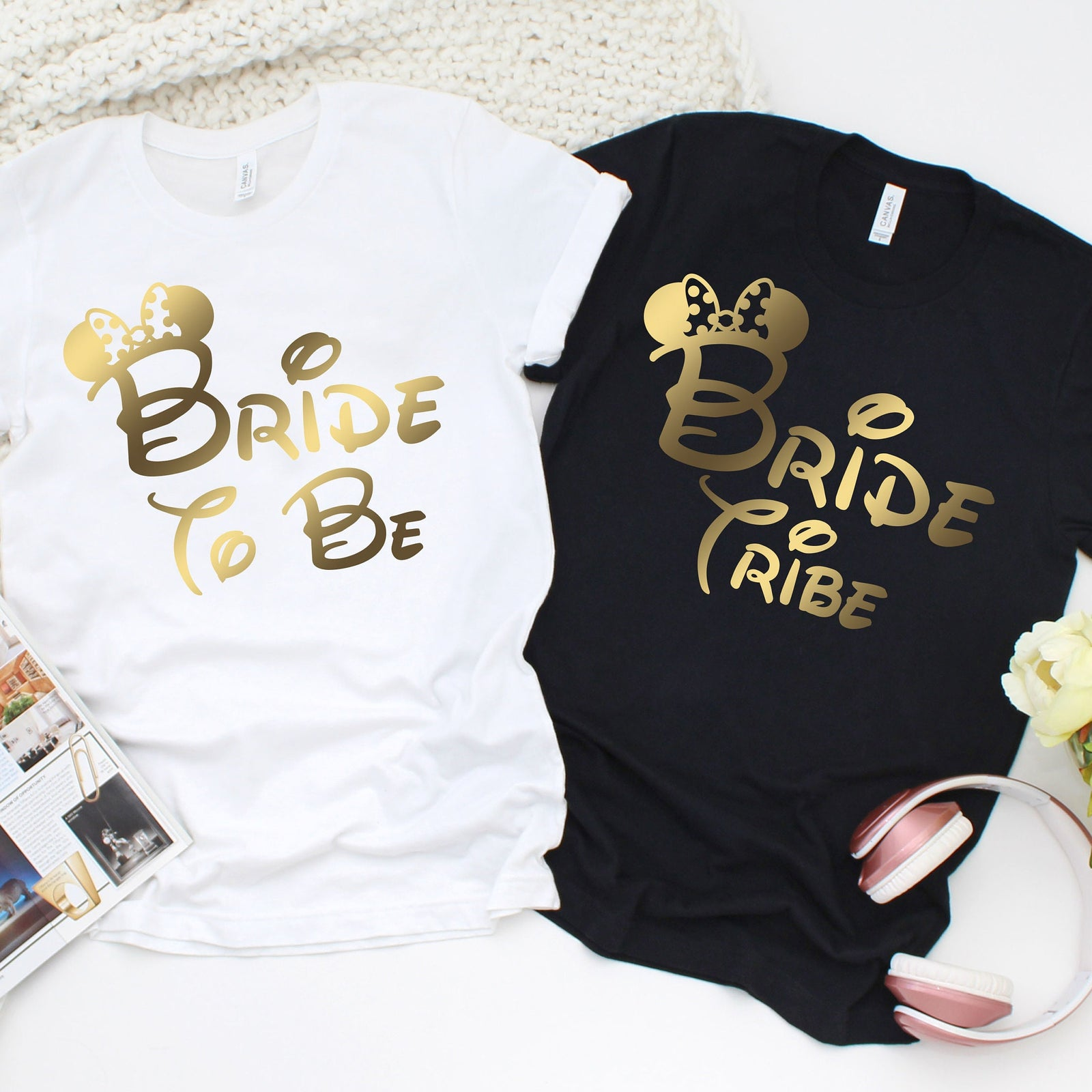 Disney Themed Bride To Be Shirt - Bride Tribe Shirts - Bachelorette Party  T Shirts - Disney Bride Shirt